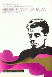 DVD image RICHARD STRAUSS / TOD UND VERKLARUNG - METAMORPHOSEN - HERBERT VON KARAJAN - BERLIN PHILHARM - (DVD VIDEO)