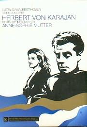 DVD image BEETHOVEN / VIOLIN CONCERTO OP 61 - ANNE - SOPHIE MUTTER - HERBERT VON KARAJAN - BERLIN PHILHARM - (DVD VIDEO)