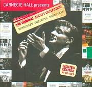 CD image CARNEGIE HALL PRESENTS / THE ORIGINAL JACKET COLLECTION / BERNSTEIN CONDUCTS BERNSTEIN (LIM EDIT) (10CD)