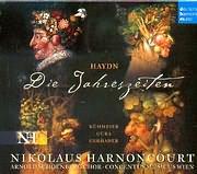 CD image HAYDN / DIE JAHRENZEITEN - ORATORIUM FUR SOLI CHOR UND ORCHESTRA - NIKOLAUS HARNONCOURT (2CD)