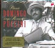 CD image PLACIDO DOMINGO / DOMINGO SINGS ROMANTIC PUCCINI