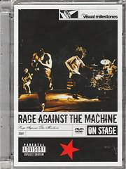 DVD image RAGE AGAINST THE MACHINE - ON STAGE - (DVD)