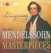 CD image MENDELSSOHN / THE COMPLETE MASTERPIECES (30 CD)