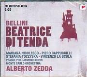 BELLINI / BEATRICE DI TENDA - PRAGUA PHILHARMONIC CHOIR - MONDE CARLO ORCHESTRA - ALBERTO ZEDDA (3CD)