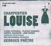 CHARPENTIER / LOUISE - AMBROSIAN OPERA CHORUS - NEW PHILHARMONIA ORCHESTRA - GEORGES PRETRE (3CD)