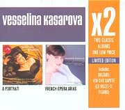 CD image VASSELINA KASAROVA / X2 - A PORTRAIT - FRANCE OPERA ARIAS (2CD)