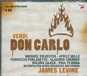 CD image VERDI / DON CARLO - METROPOLITAN OPERA ORCHESTRA AND CHORUS - JAQMES LEVINE (3CD)