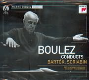 CD image PIERRE BOULEZ / CONDUCTS - BARTOK - SCRIABIN (4CD)