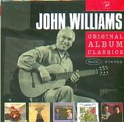 CD image JOHN WILLIAMS / SPANISH MUSIC - TWO GUITAR CONCERTOS - JULIAN AND JOHN - PERLMAN AND WILLIAMS DUO (5CD)