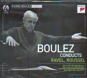 PIERRE BOULEZ / <br>CONDUCTS - RAVEL - ROUSSEL (4CD)