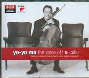 CD image YO YO MA / THE VOICE OF CELLO - BACH - BOCCERINI - FRANCK - FAURE - SAINT SAENS - MASSENET (3CD)