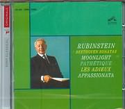 CD image RUBINSTEIN / BEETHOVEN SONATAS - MOONLIGHT - PATHETIQUE - LES ADIEUX - APPASIONATA