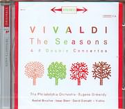 CD image VIVALDI / THE FOUR SEASONS - CONCERTO FOR TWO VIOLINS STRING AND CONTINUO RV 512 - 514 - 517 - STERN - OISTRAK