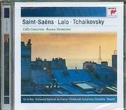 CD image YO YO MA / SAINT - SEAN - LALO - TCHAIKOVSKY