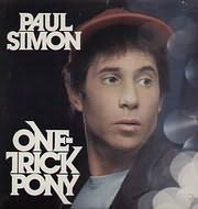 CD image PAUL SIMON / ONE TRICK PONY