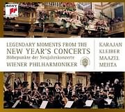 CD image LEGENDARY MOMENTS OF THE NEW YEAR S CONCERTS - (VARIOUS) (4 CD)