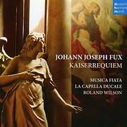 CD image FUX / KAISER REQUIEM (MUSICA FIATA - ROLAND WILSON)