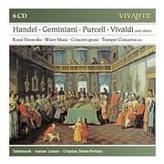 CD image HANDEL - GEMINIANI - PURCELL - VIVALDI / TAFELMUSIC (6 CD)