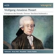 CD image MOZART / 6 SYMPHONIES AFTER SERENADES - OVERTURES (TAFELMUSIC) (4CD)
