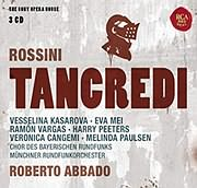 CD image ROSSINI / TANCREDI (ROBERTO ABBADO) (3CD)