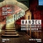 CD image HANDEL / CONCERTI GROSSI OP. 3 - CONCERTO DOPPIO (SILETE VENTI)