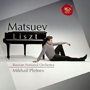 CD image DENIS MATSUEV / LIST WITH M. PLETNEV (2CD)