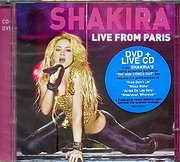 CD + DVD image SHAKIRA - LIVE FROM PARIS (WITH CD) - (DVD)