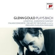 CD image GLENN GOULD / GLENN GOULD PLAYS BACH: 6 PARTITAS - CHROMATIC FANTASY - ITALIAN CONCERTO (4CD)