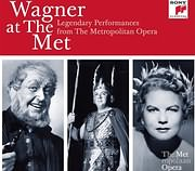 CD image WAGNER AT THE MET (25 CD) - (VARIOUS)
