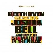 CD image BEETHOVEN / SYPHONIES NO.4 AND NO.7 (JOSHUA BELL)