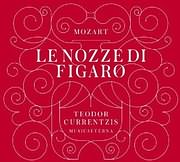 CD + DVD image MOZART / LE NOZZE DI FIGARO (TEODOR CURRENTZIS) WITH 300 - PAGE BOOKLET (3CD + BLU - RAY AUDIO)