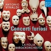 CD image VIVALDI / CONCERTI FURIOSI (LA FOLIA BAROCKORCHESTER)