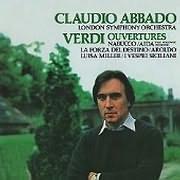 CD image CLAUDIO ABBADO / VERDI OVERTURES (REMASTERED)