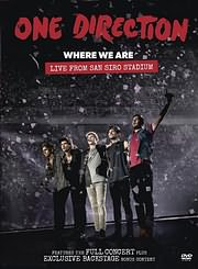 DVD image ONE DIRECTION - WHERE WE ARE: LIVE FROM SAN SIRO STADIUM - (DVD)