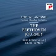 CD image LEIF OVE ANDSNES / THE BEETHOVEN JOURNEY - PIANO CONCERTO N.5 EMPEROR AND CHORAL FANTASY