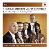CD image MOZART / THE 6 HAYDN QUARTETS AND THE 6 STRING QUARTETS (BUDAPEST STRING QUARTET) (4CD)