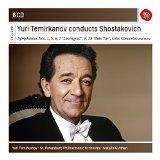 CD image YURI TEMIRKANOV / CONDUCTS SHOSTAKOVITCH (6CD)