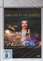 CD image for YANNI / YANNI LIVE AT THE ACROPOLIS (DVD)