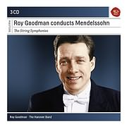 CD image ROY GOODMAN / CONDUCTS MENDELSSOHN - THE STRING SYMPHONIES (3CD)