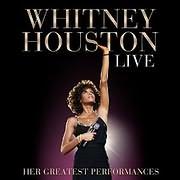CD + DVD image WHITNEY HOUSTON / LIVE: HER GREATEST PERFORMANCES (CD+DVD)