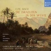 CD image BACH C.P.E. / DIE ISRAELITEN IN DER WUSTE (CHRISTOPH SPERING)