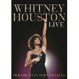 DVD image WHITNEY HOUSTON / LIVE: HER GREATEST PERFORMANCES - (DVD)
