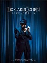DVD image LEONARD COHEN / LIVE IN DUBLIN - (DVD)