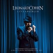 CD + DVD image LEONARD COHEN / LIVE IN DUBLIN (3CD+DVD)
