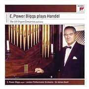 CD image HANDEL / E. POWER BIGGS PLAYS HANDEL - THE 16 ORGAN CONCERTOS (4CD)