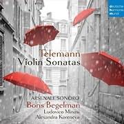 CD image for TELEMANN / VIOLIN SONATAS (BORIS BEGELMAN)