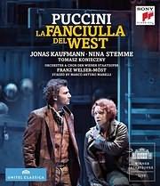 DVD image BLU - RAY / PUCCINI: LA FANCIULLA DEL WEST (JONAS KAUFMANN)