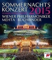CD image for WIENER PHILHARMONIKER / SUMMER NIGHT CONCERT 2015 - (DVD VIDEO)