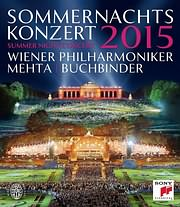 CD image for BLU - RAY / WIENER PHILHARMONIKER / SUMMER NIGHT CONCERT 2015