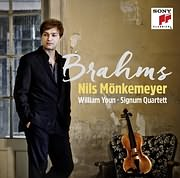 CD image for NILS MONKEMEYER / BRAHMS (WILLIAM YOUN - SIGNUM QUARTETT)